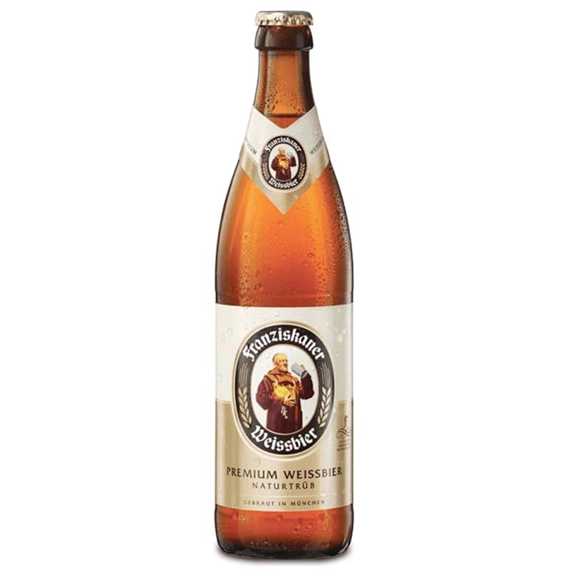 cerveza Franziskaner Hefe Weissber Hell